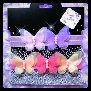 Other - Baby girl butterfly headbands.